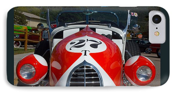 1927 Ford T Roadster IPhone Case by Lee Roth