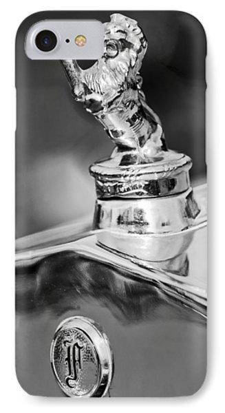 1927 Franklin Sedan Hood Ornament 2 Phone Case by Jill Reger