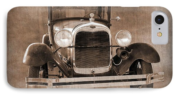 1928 Ford Model A Coupe IPhone Case by Betty Northcutt
