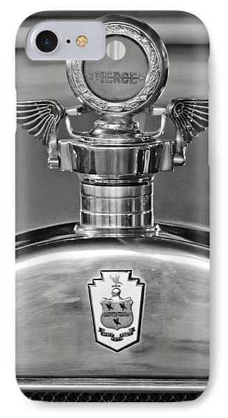 1928 Pierce-arrow Hood Ornament 2 Phone Case by Jill Reger