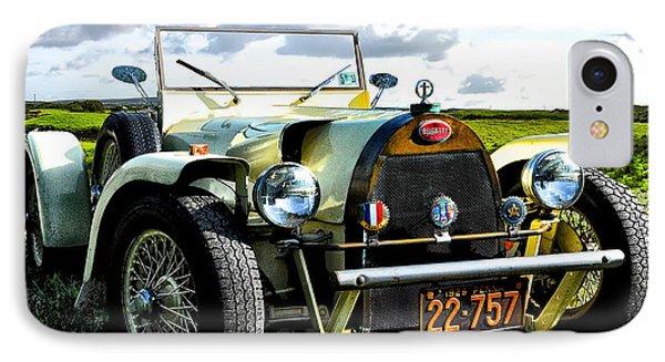 1929 Bugatti Phone Case by Bill Cannon