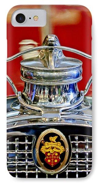 1929 Packard 8 Hood Ornament 2 Phone Case by Jill Reger