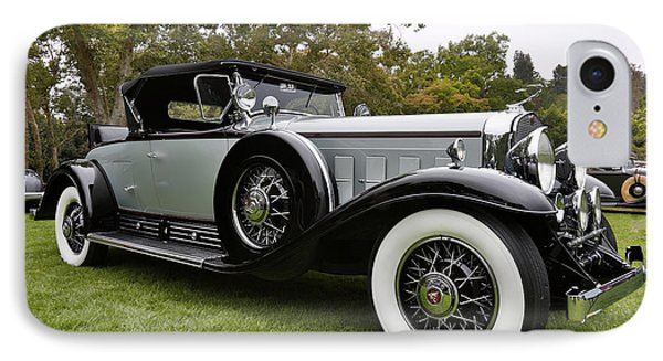 1930 Cadillac Model 452 IPhone Case by Robert Jensen
