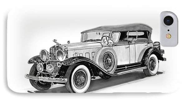1931 Cadillac Phaeton Phone Case by Jack Pumphrey