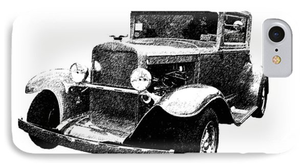 1930 Chevy Phone Case by Guy Whiteley