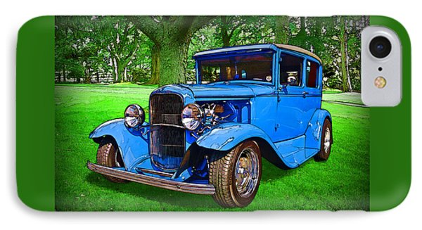 1930 Ford IPhone Case by Richard Farrington