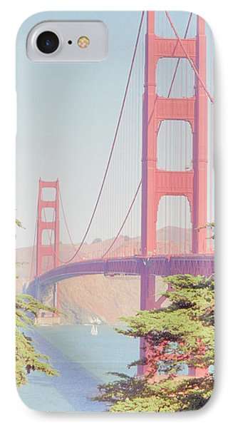 1930s Golden Gate IPhone Case by Nigel Fletcher-Jones