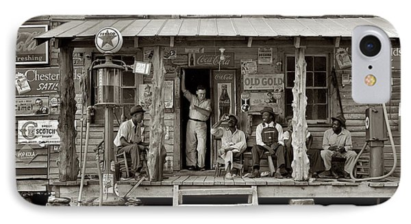 1930's Southern Gas Station Phone Case by Bill Cannon
