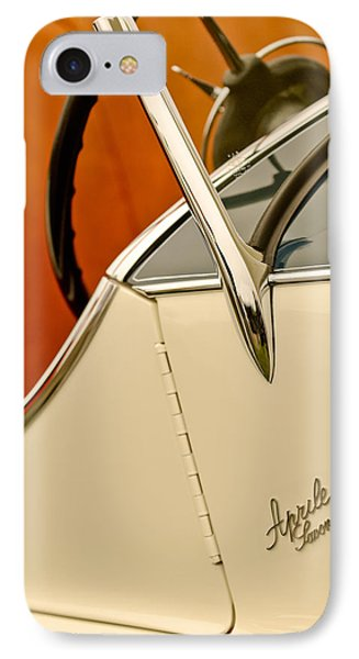 1931 Alfa Romeo 6c 1750 Gran Sport Aprile Spider Corsa Steering Wheel Phone Case by Jill Reger