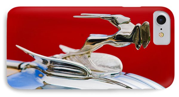 1931 Chrysler Coupe Hood Ornament IPhone Case