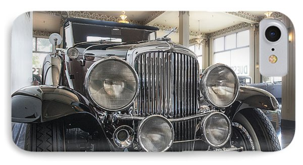 1931 Duesenberg Model J Convertible Coupe IPhone Case by Gary Warnimont