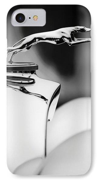 1931 Lincoln K Hood Ornament -1837bw Phone Case by Jill Reger