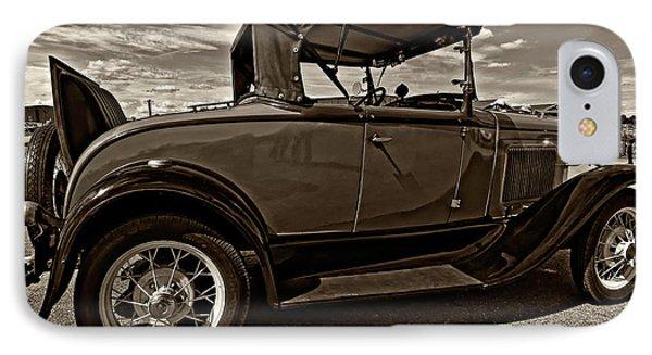 1931 Model T Ford Monochrome Phone Case by Steve Harrington
