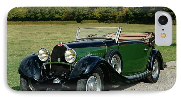 1932 Bugatti Type 49 3.2 Drophead IPhone Case by Panoramic Images