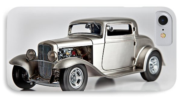 IPhone Case featuring the photograph 1932 Ford 3 Window Coupe by Gianfranco Weiss