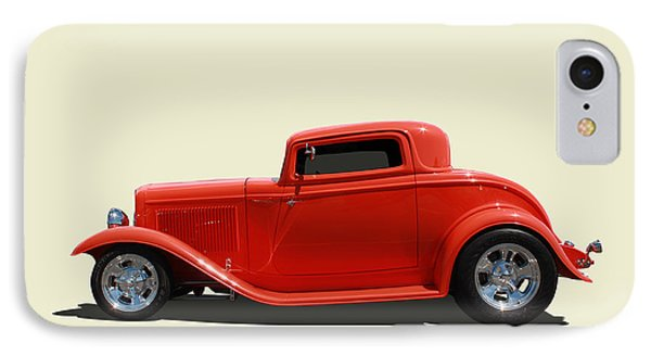 IPhone Case featuring the photograph 1932 Ford 3 Window Coupe by Keith Hawley
