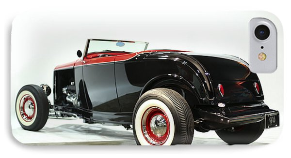 IPhone Case featuring the photograph 1932 Ford Deuce Roadster by Gianfranco Weiss