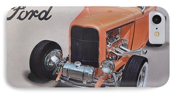 1932 Ford Phone Case by Paul Kuras