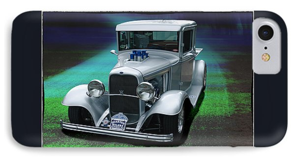 IPhone Case featuring the digital art 1932 Ford Pickup by Richard Farrington
