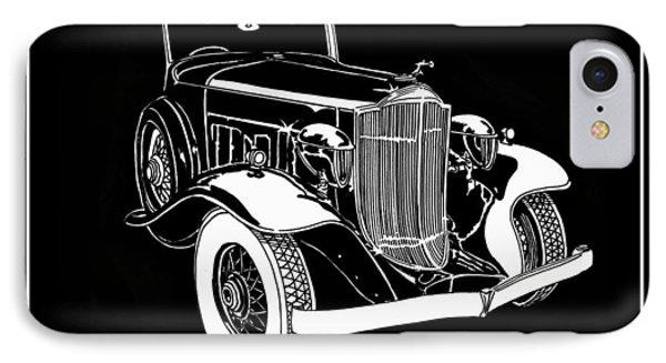 1932 Packard Light Eight Phone Case by Jack Pumphrey