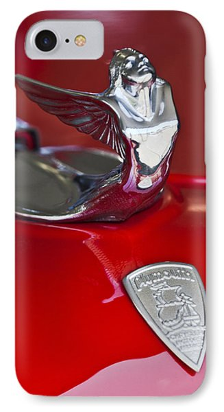 1933 Plymouth Hood Ornament IPhone Case