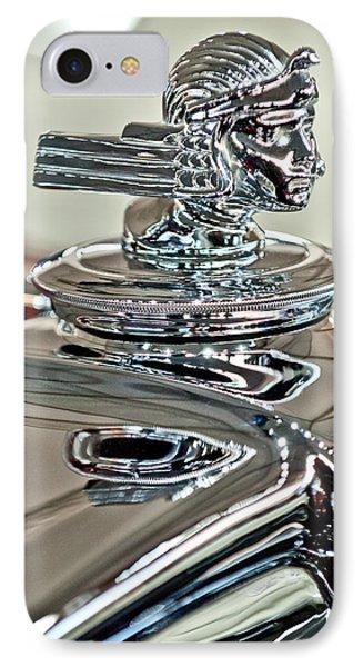 1933 Stutz Dv-32 Dual Cowl Phaeton Hood Ornament 2 Phone Case by Jill Reger