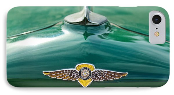 1934 Dodge Hood Ornament Emblem IPhone Case by Jill Reger