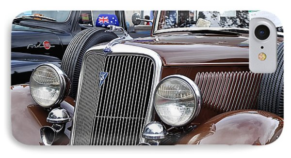 1934 Ford 6 Wheel Equip Front End Phone Case by Kaye Menner