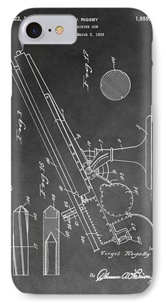 1934 Machine Gun IPhone Case
