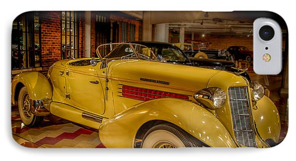 1935 Auburn 851 Speedster Supercharged IPhone Case