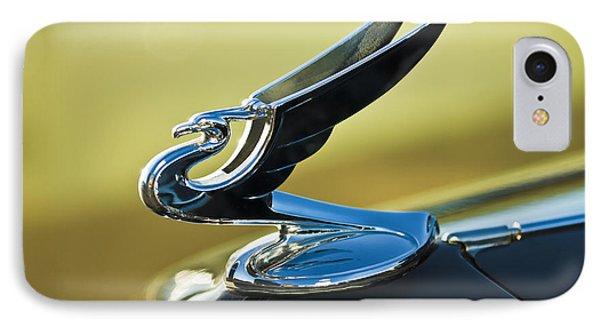 1935 Chevrolet Sedan Hood Ornament 2 Phone Case by Jill Reger