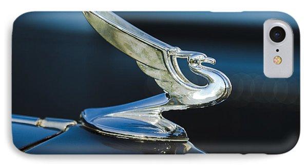 1935 Chevrolet Sedan Hood Ornament Phone Case by Jill Reger