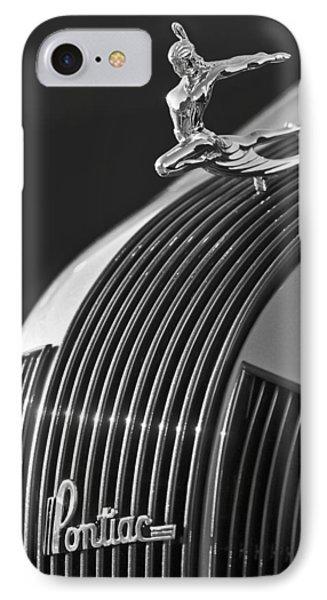 1935 Pontiac Sedan Hood Ornament 3 Phone Case by Jill Reger
