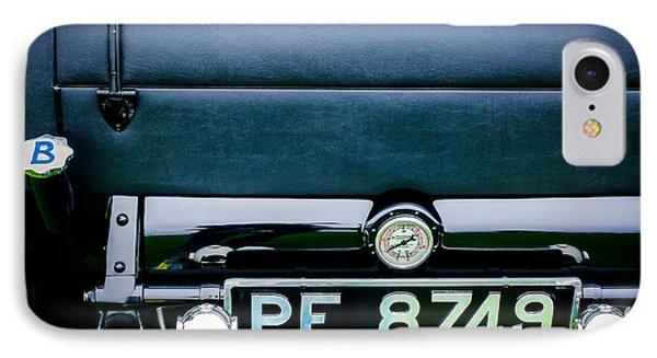 1936 Bugatti Type 57s Corsica Tourer License Plate IPhone Case by Jill Reger