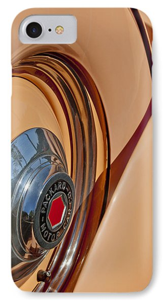 1936 Packard Spare Tire  Phone Case by Jill Reger
