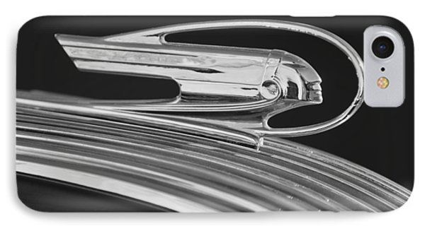 1936 Pontiac Hood Ornament 5 Phone Case by Jill Reger