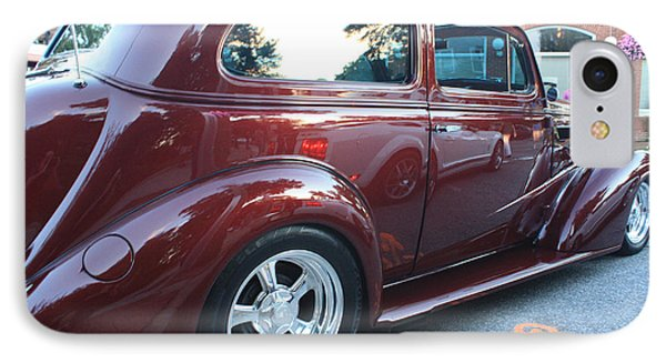 1937 Chevy Two Door Sedan Rear And Side View Phone Case by John Telfer