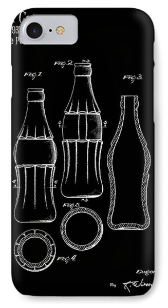 1937 Coca Cola Bottle IPhone Case by Mark Rogan