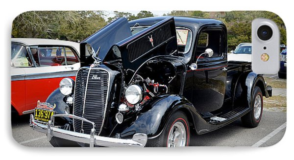 IPhone Case featuring the photograph 1937 Ford Pick Up by Kathy Baccari