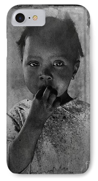 1937 Portrait Child Of Tenant Farmer IPhone Case