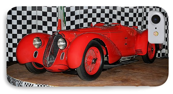 IPhone Case featuring the photograph 1938 Alfa Romeo 2900b Mm by Boris Mordukhayev