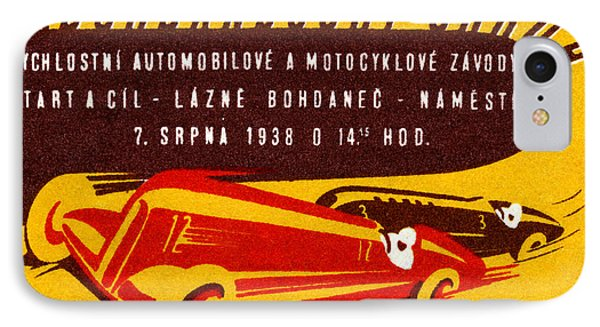 1938 Czech Motor Racing IPhone Case by Historic Image