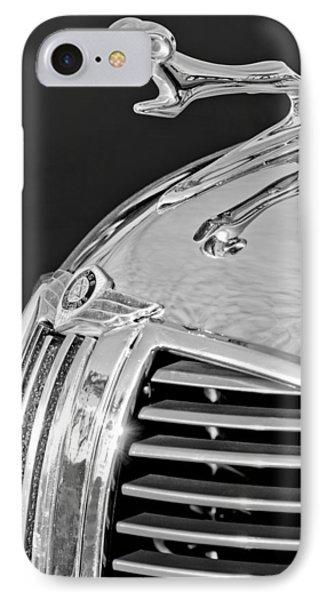 1938 Dodge Ram Hood Ornament 4 Phone Case by Jill Reger