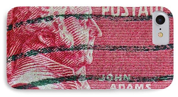 1938 John Adams Stamp Phone Case by Bill Owen