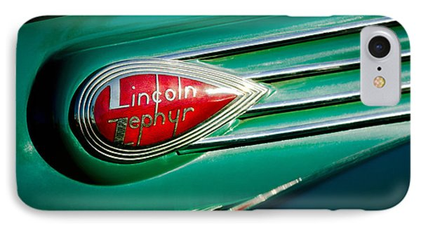 1938 Lincoln Zephyr Emblem IPhone Case