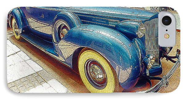 1938 Packard National Automobile Museum Reno Nevada IPhone Case by A Gurmankin