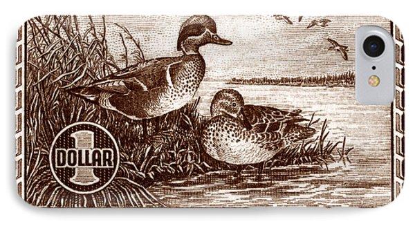1939 American Bird Hunting Stamp IPhone Case