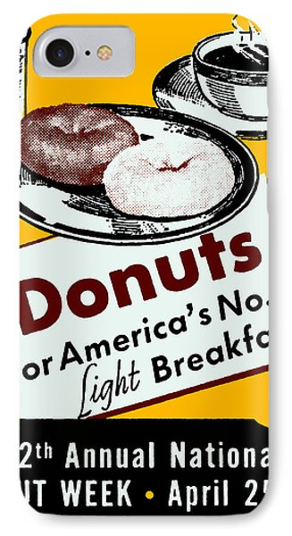 1939 Donut Poster IPhone Case