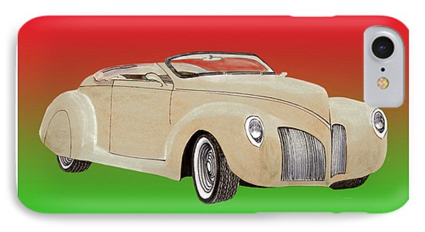 1939 Lincoln Zephyr Speedster Phone Case by Jack Pumphrey