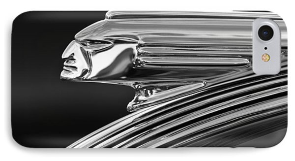 1939 Pontiac Silver Streak Hood Ornament 3 IPhone Case by Jill Reger